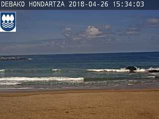 webcam deba playa